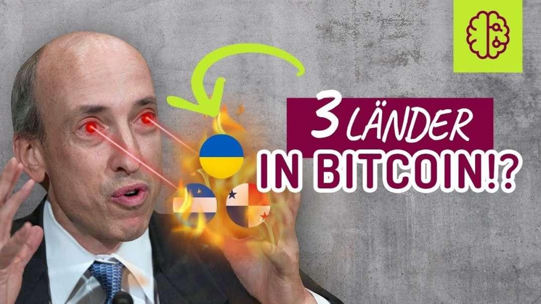 BREAKING NEWS !! 3 Länder in BITCOIN