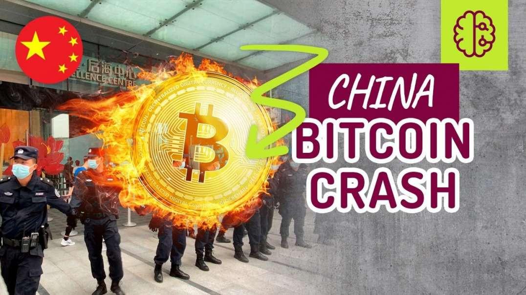 China Bitcoin CRASH ! Was ist los