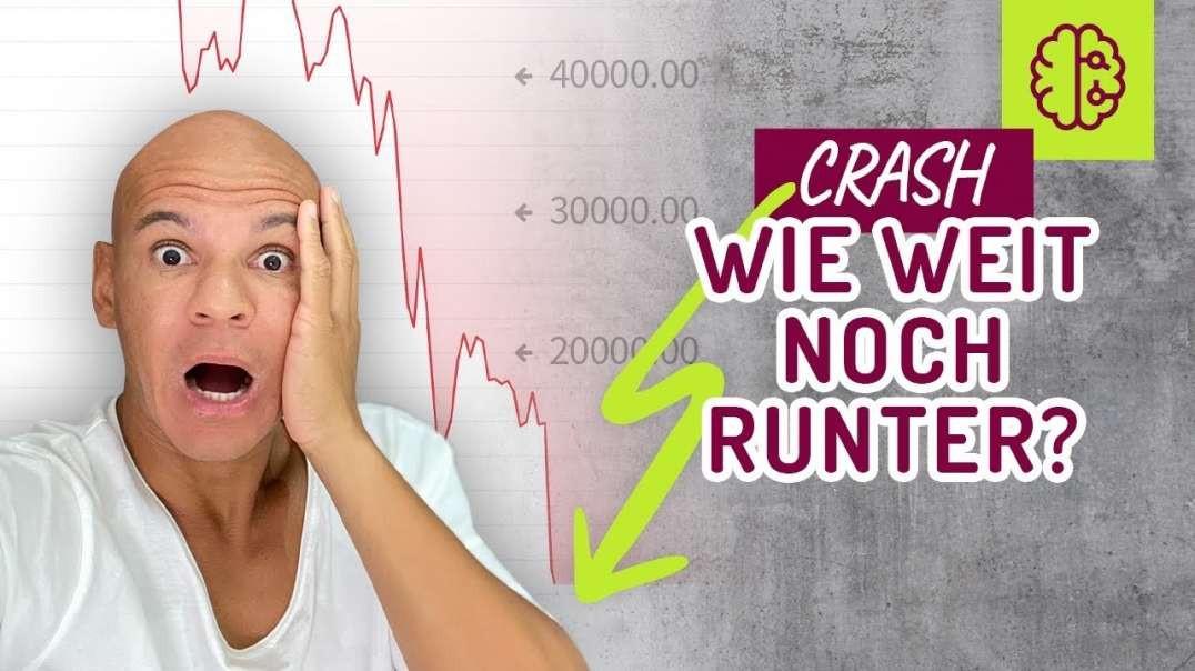 NOTFALL ! Bitcoin CRASH ! Wie weit gehts noch RUNTER !