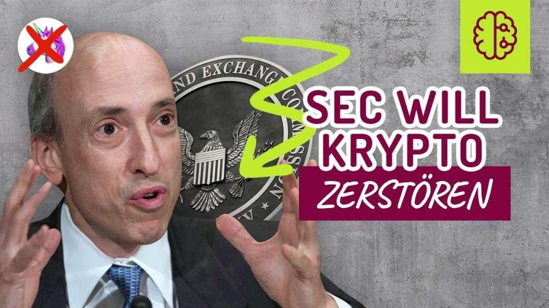 SCHNELL !! Die SEC zerstört Krypto, Defi & Uniswap ! Was jetzt !? Coach Cecil