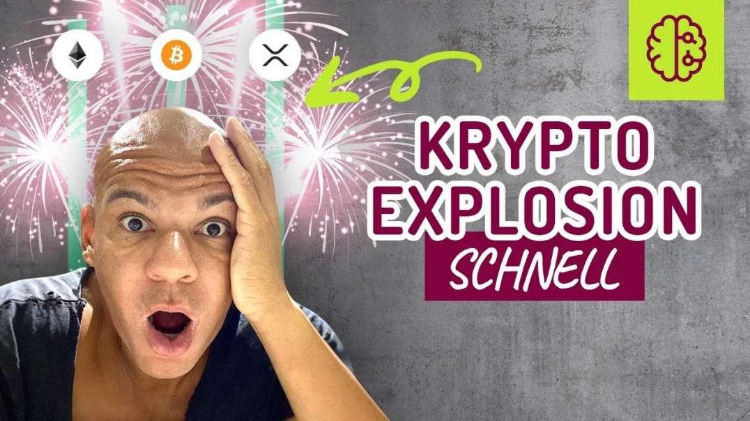 EXPLOSION Ethereum, Bitcoin, XRP !!! SCHNELL gucken !! Coach Cecil