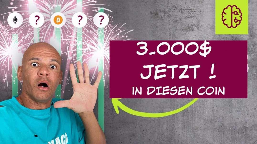 ACHTUNG !! Ich investiere JETZT 3.000$ in DIESEN 300x Coin ? (bis 30. September) SCHNELL !!